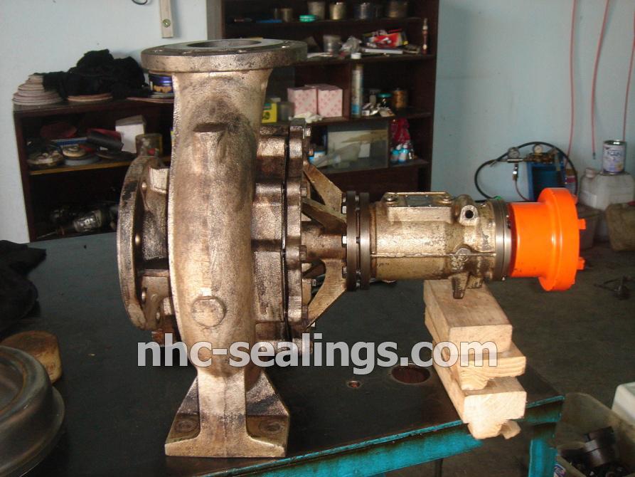 Bảo trì_bảo dưỡng máy bơm dầu nóng Allweilel.